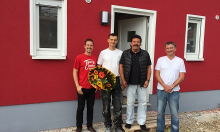 Hausübergabe Raumwunder 100 in Rabenstein
