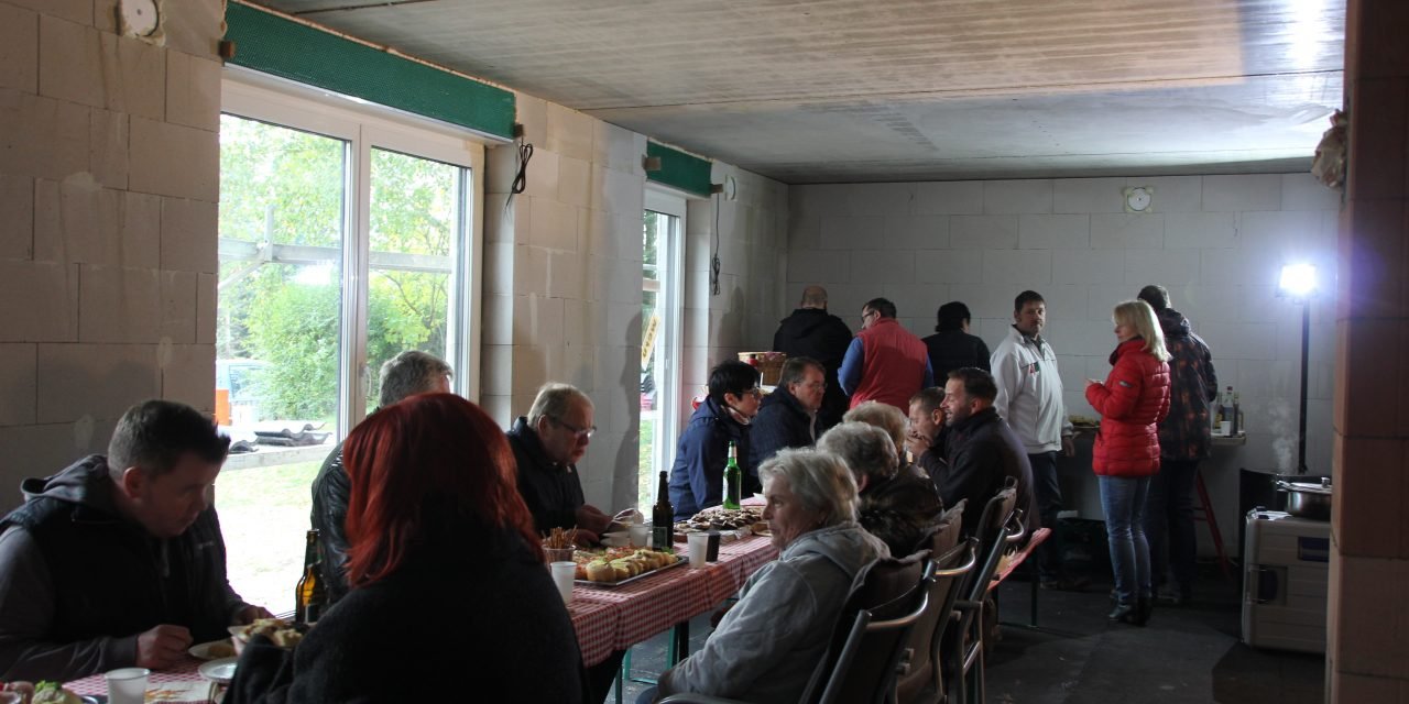 Richtfest Stadtvilla 152 RE in Limbach-Oberfrohna