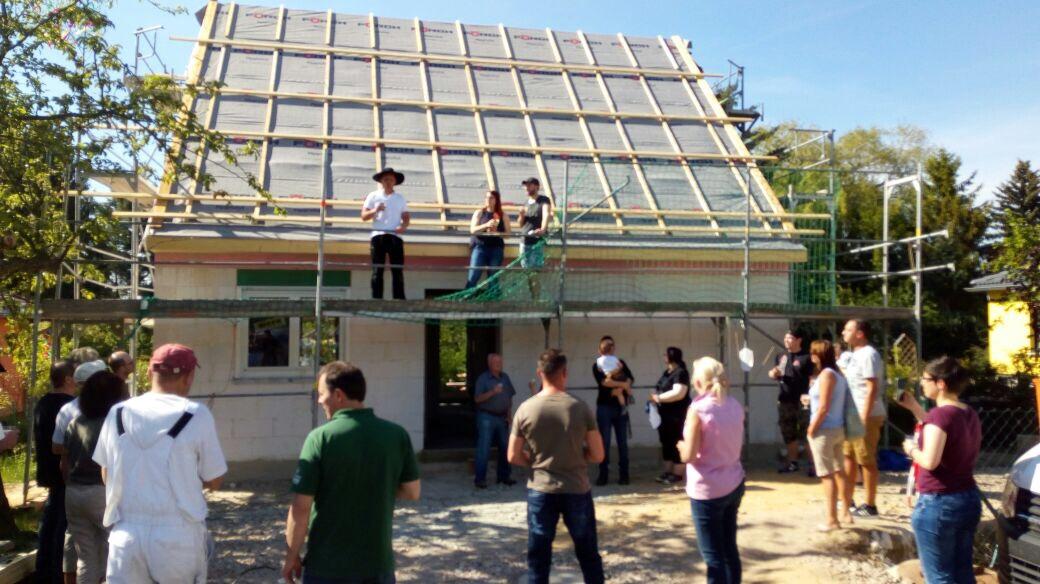 Richtfest Flair 113 in Adelsberg