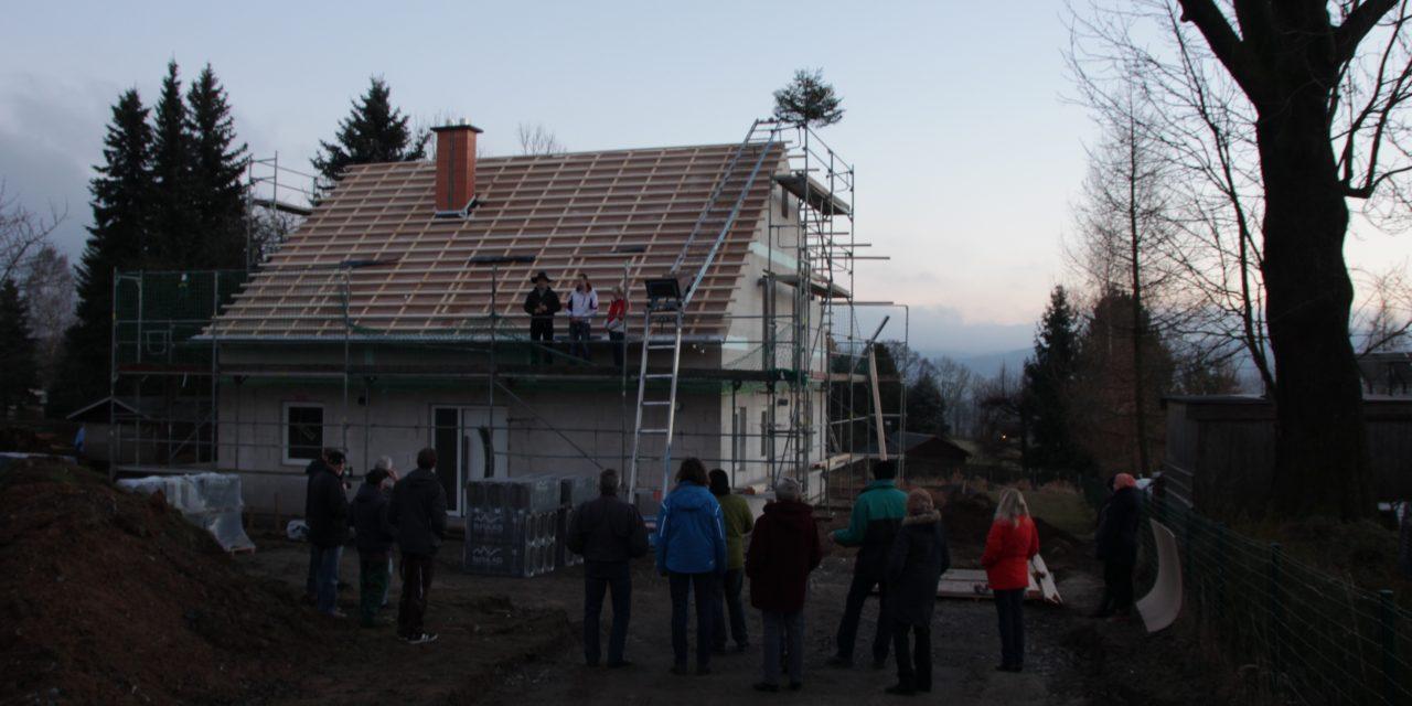 Richtfest Flair 148 in Pockau-Lengefeld