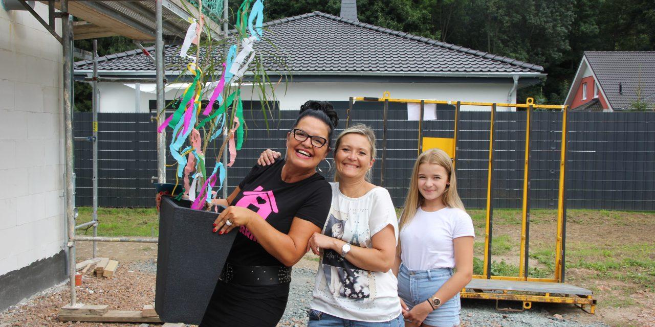 Richtfest Flair 110 in Harthau