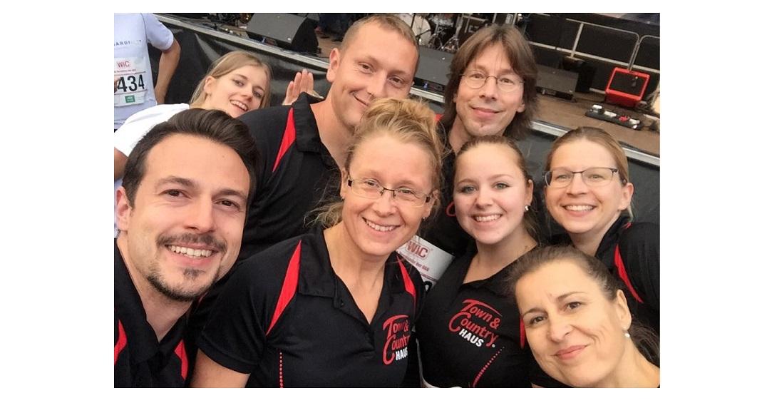 Unser Team beim Firmenlauf 2017