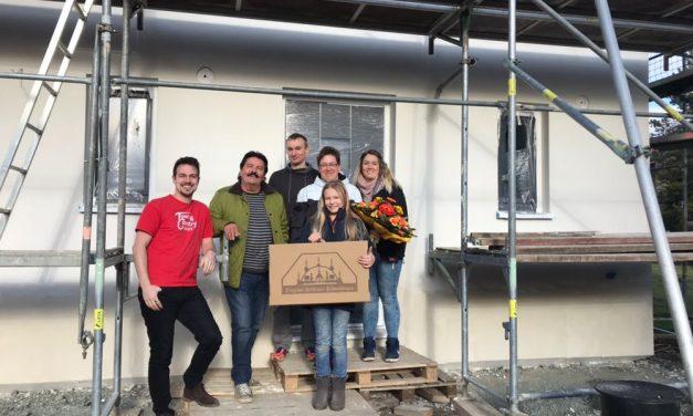 Hausübergabe Raumwunder 100 in Lichtenberg
