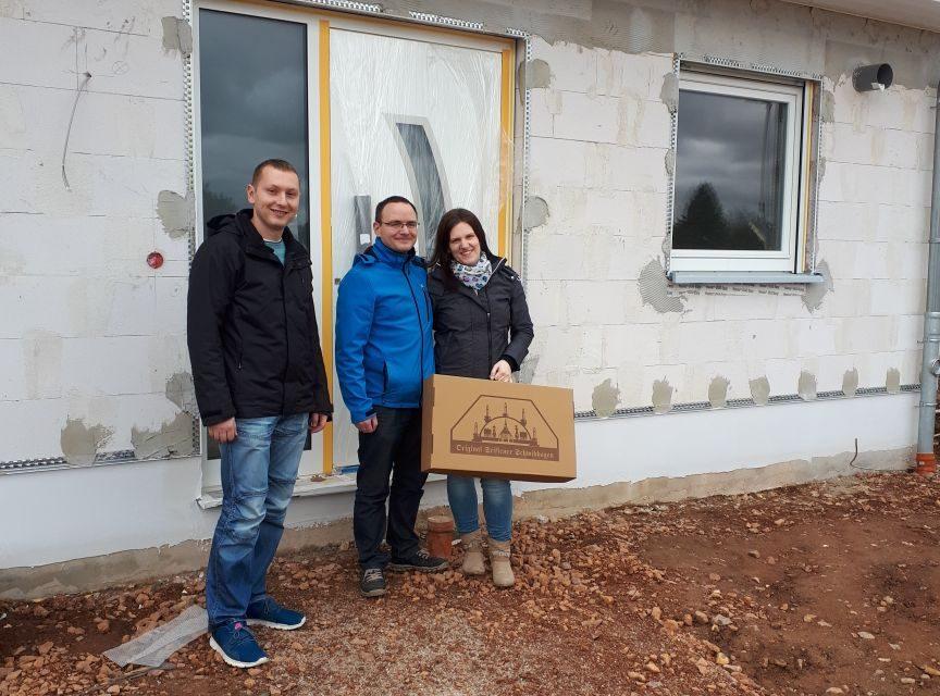 Hausübergabe Flair 110 in Neukirchen