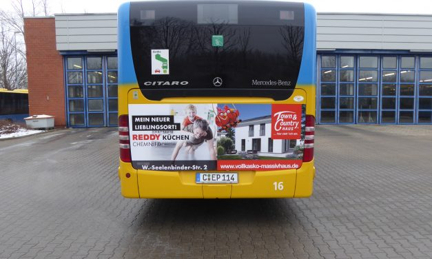 Unser Bus ist unterwegs!