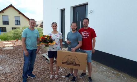 Hausübergabe Flair 152 in Neukirchen