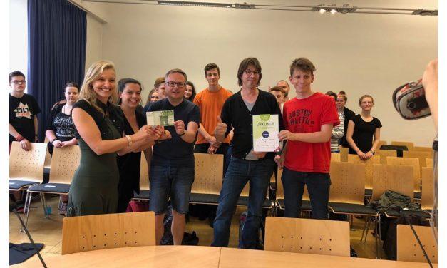Scheckübergaben an Chemnitzer Vereine dank der Town & Country Stiftung!
