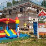 Richtfest eines Stadthaus Flair 152 RE in Hartmannsdorf