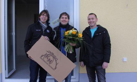 Hausübergabe eines Flair 125 in Chemnitz