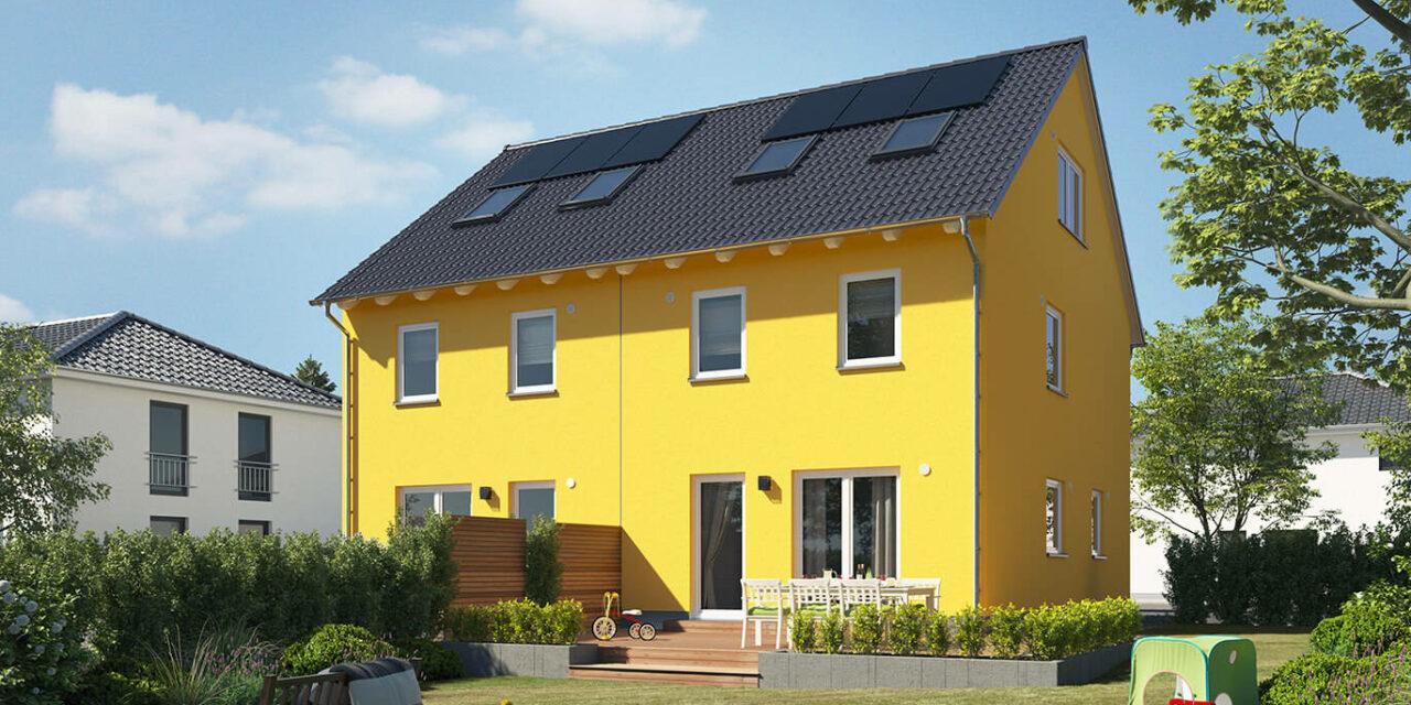 Hausübergabe eines Doppelhaus Mainz 128 in Chemnitz