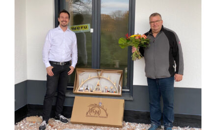 Hausübergabe eines Winkelbungalow 108 in Chemnitz