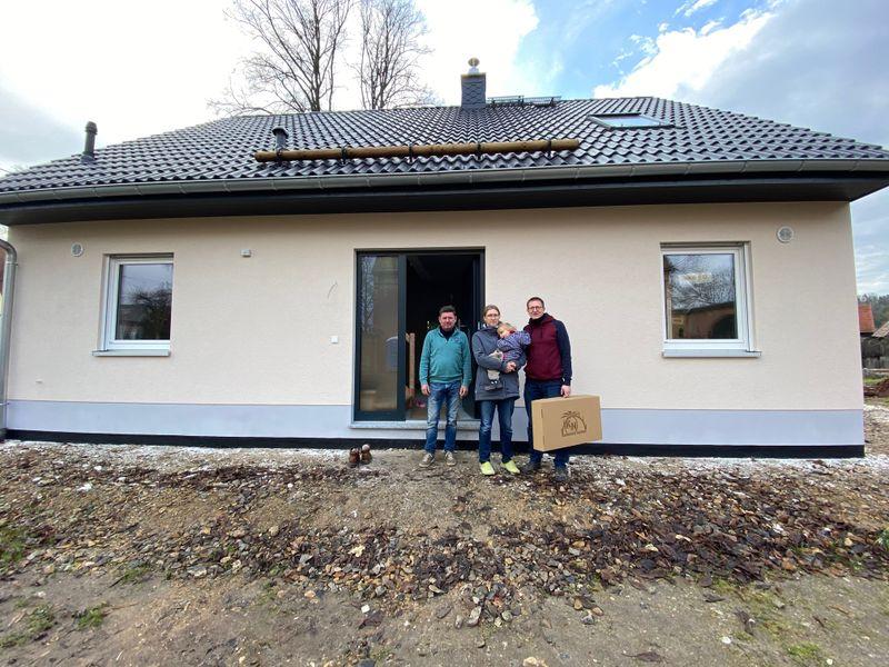 Hausübergabe eines Flair 148 in Niederlungwitz