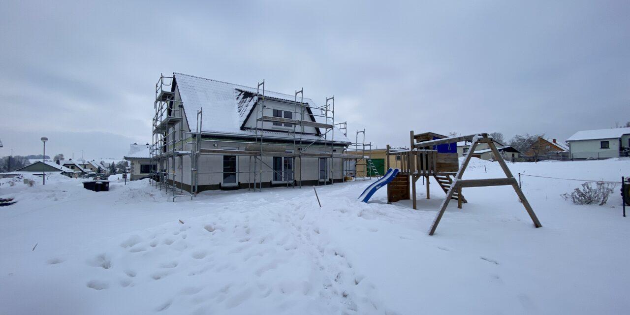 Hausübergabe eines Flair 148 in Königshaus-Wiederau