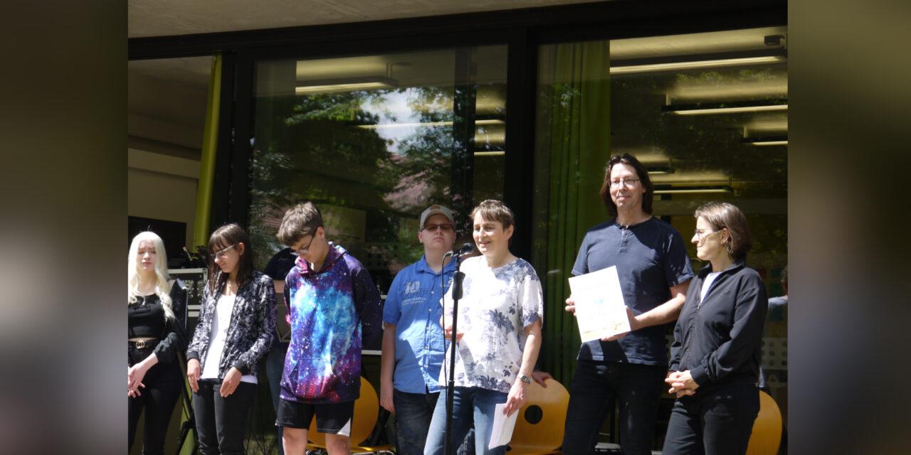 Town & Country Stiftungspreis für die Landesschule für Blinde und Sehbehinderte in Chemntiz