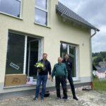 Hausübergabe eines Flair 125 in Drehbach