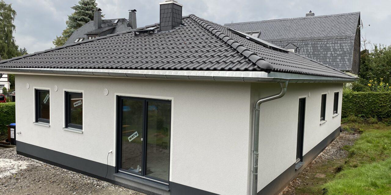 Hausübergabe eines Bungalow 110 in Chemnitz